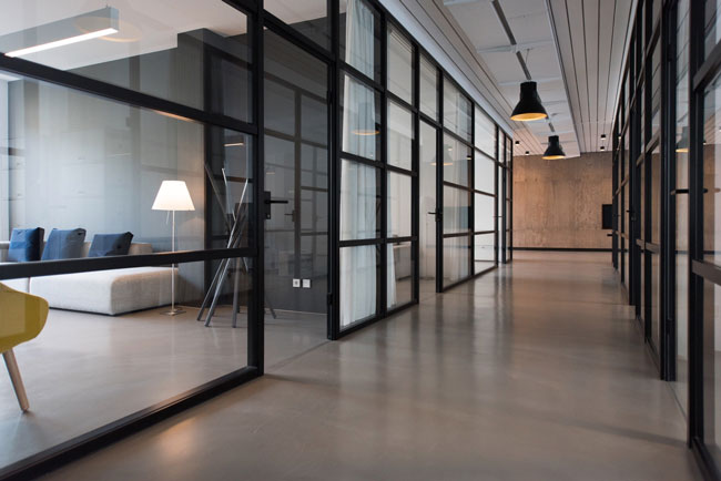 office hallway - Security Consulting
